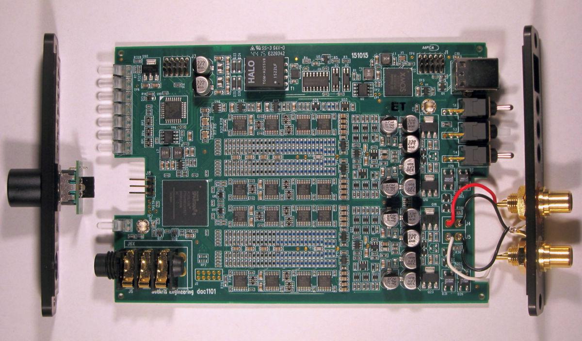 Soekris Audiophile Line DACs 1541, 1421, 1321, 1101 ...
